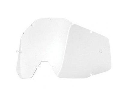 Náhradní sklo pro brýle 100% Racecraft/Accuri-čiré