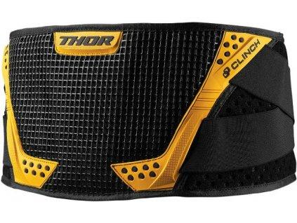 Ledvinový pás Thor Clinch černo/žlutý