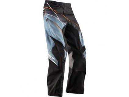 Endurové kalhoty Thor Phase Over Boot-šedo/černé vel.38