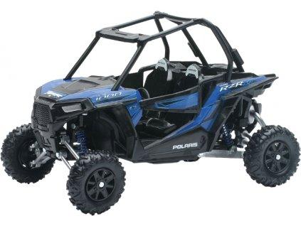 Model Polaris RZR 1000 XP modré barvy 1:18