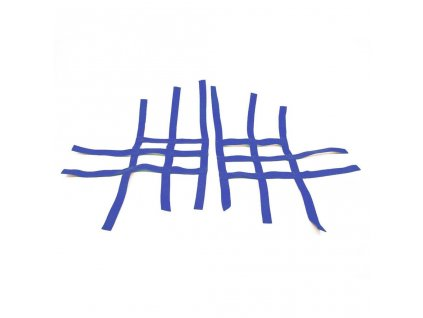 nerf bar net universal for kawasaki blue