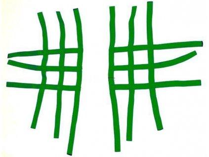 Síťky k nášlapům univerzální - zelené