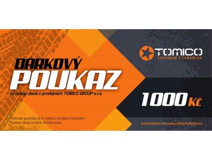 Tomico Darkovy poukaz 1000 1