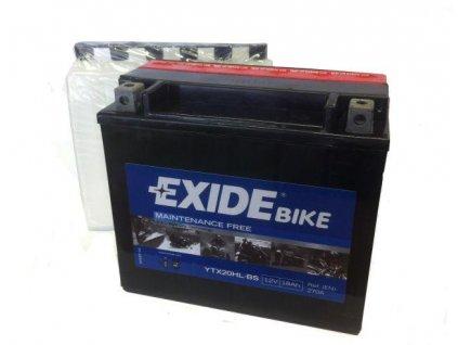 Baterie gelová Exide YTX20L-BS