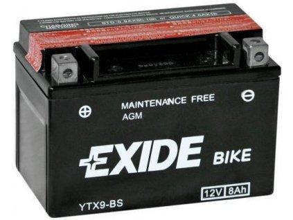 Baterie gelová Exide YTX9-BS