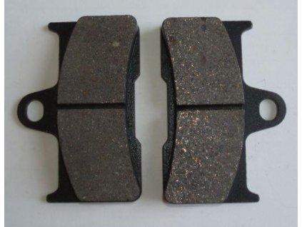 Brzdové destičky originální na CF Moto-zadní
