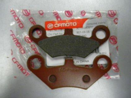 Brzdové destičky originální na CF-Moto-přední