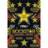 Polepy Rockstar energy drink - žlutá/černá
