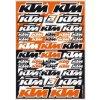 Sada samolepek KTM