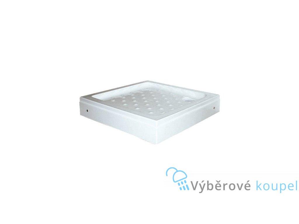 54920 sanotechnik sprchova vanicka akrylat ctverec 80cm se sifonem p18