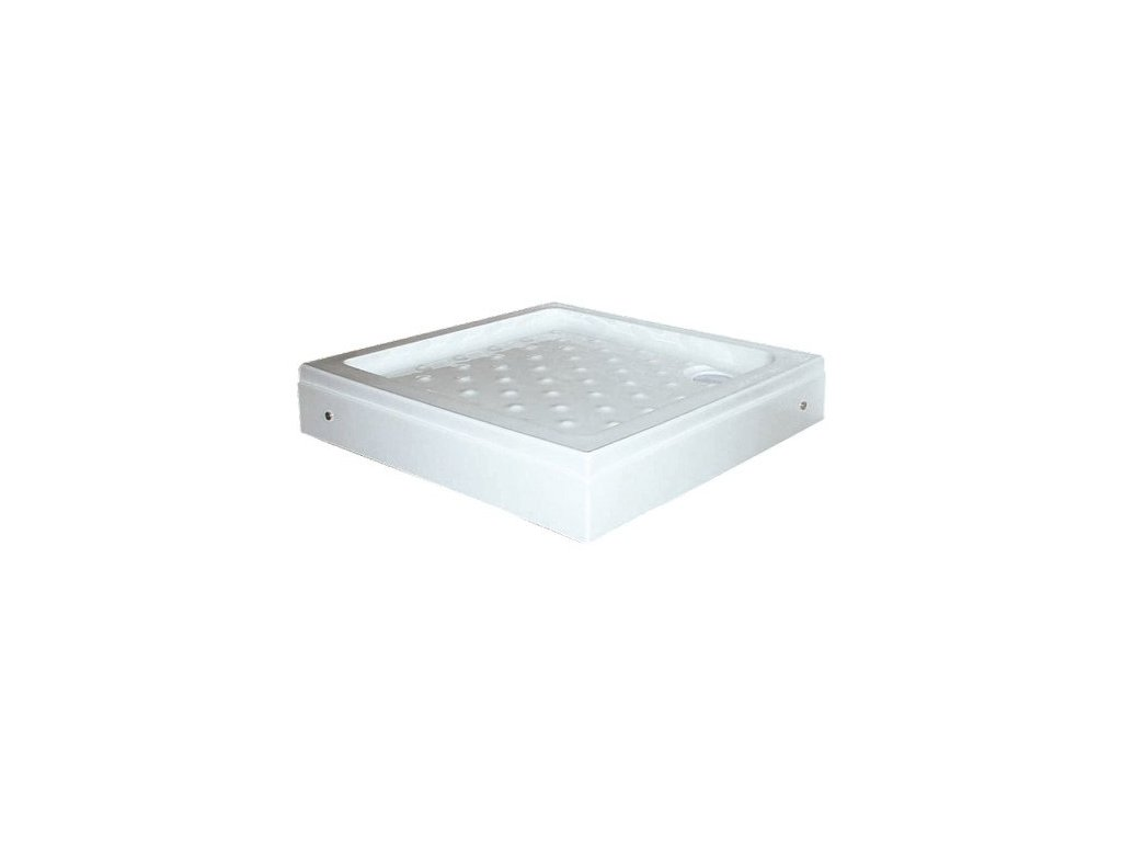54923 sanotechnik sprchova vanicka akrylat ctverec 90cm se sifonem p19