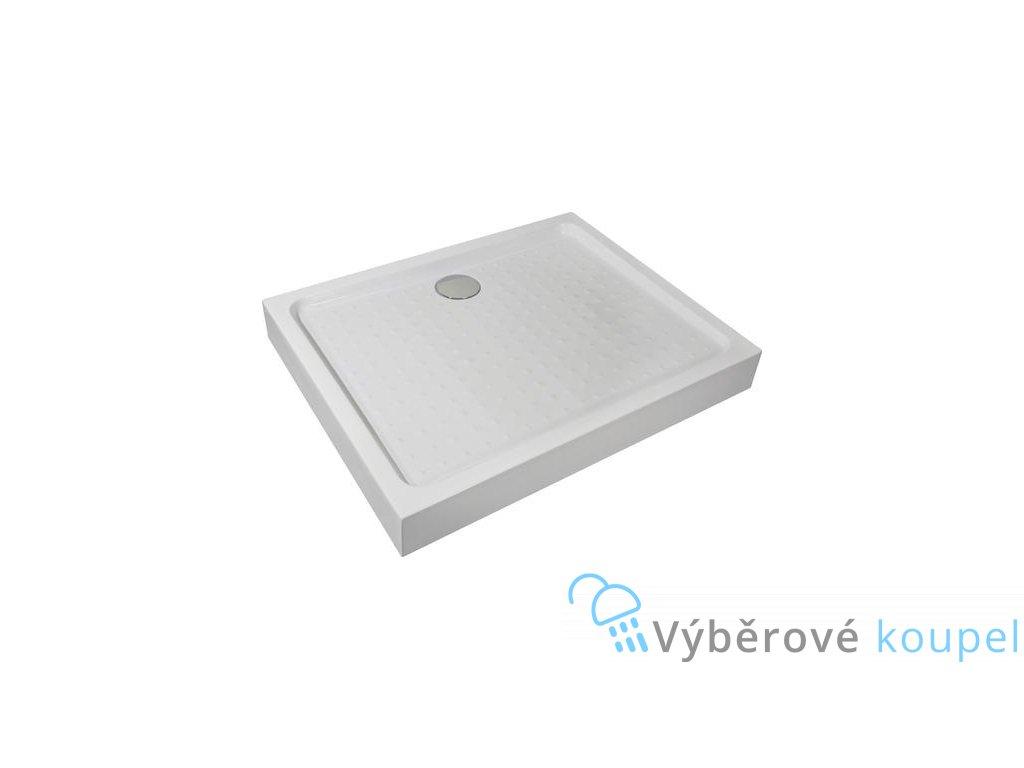 54932 sanotechnik sprchova vanicka akrylat obdelnik 100x80cm se sifonem p108