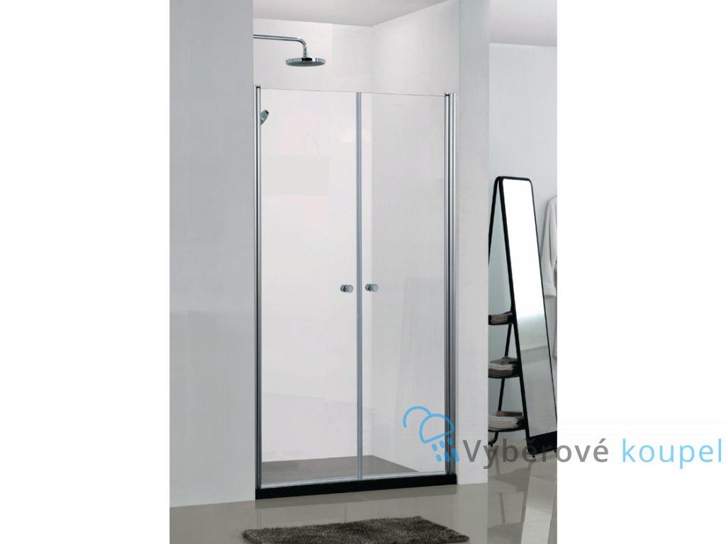 55463 sanotechnik elegance sprchove dvere sirka 100cm oteviraci dvoukridle n1100