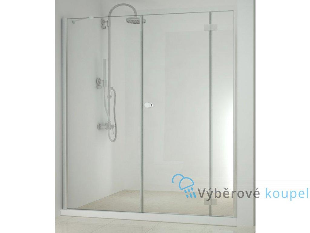 55526 sanotechnik smartflex sprchova zastena fix oteviraci dvere sirka 150 240cm d1170 d1281r