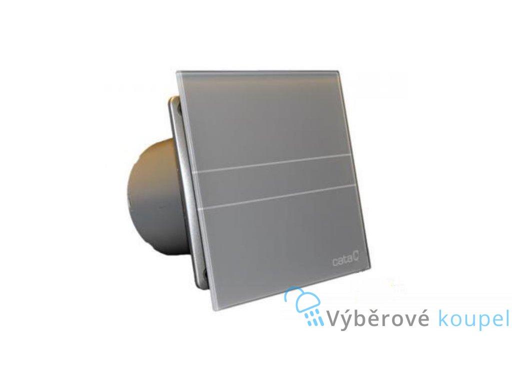 55574 cata e100 gst ventilator do koupelny s casovacem stribrny