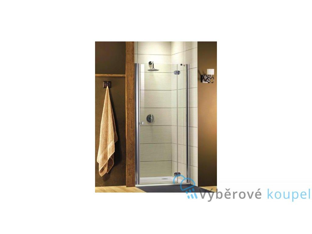 Radaway Torrenta DWJ, sprchové dveře, šířka 120cm, otevírací (Umiestnenie dverí Pravé dvere)