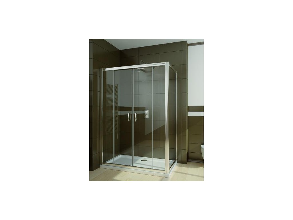 55955 radaway premium plus dwd s obdelnikovy sprchovy kout 160x80cm posuvne dvere cire sklo