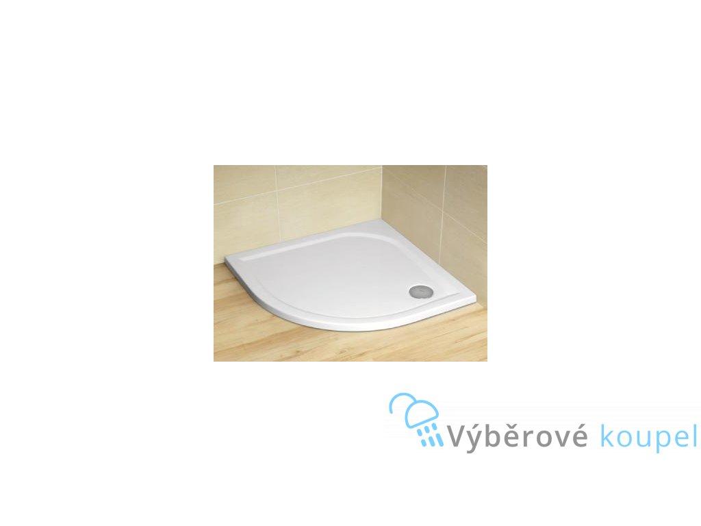 55982 radaway delos a sprchova vanicka akrylat ctvrtkruh 80cm