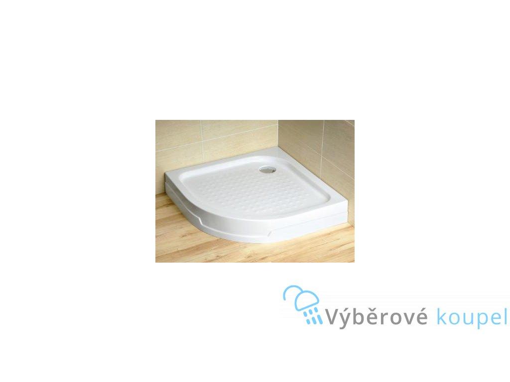 55997 radaway rodos a sprchova vanicka akrylat ctvrtkruh 80cm