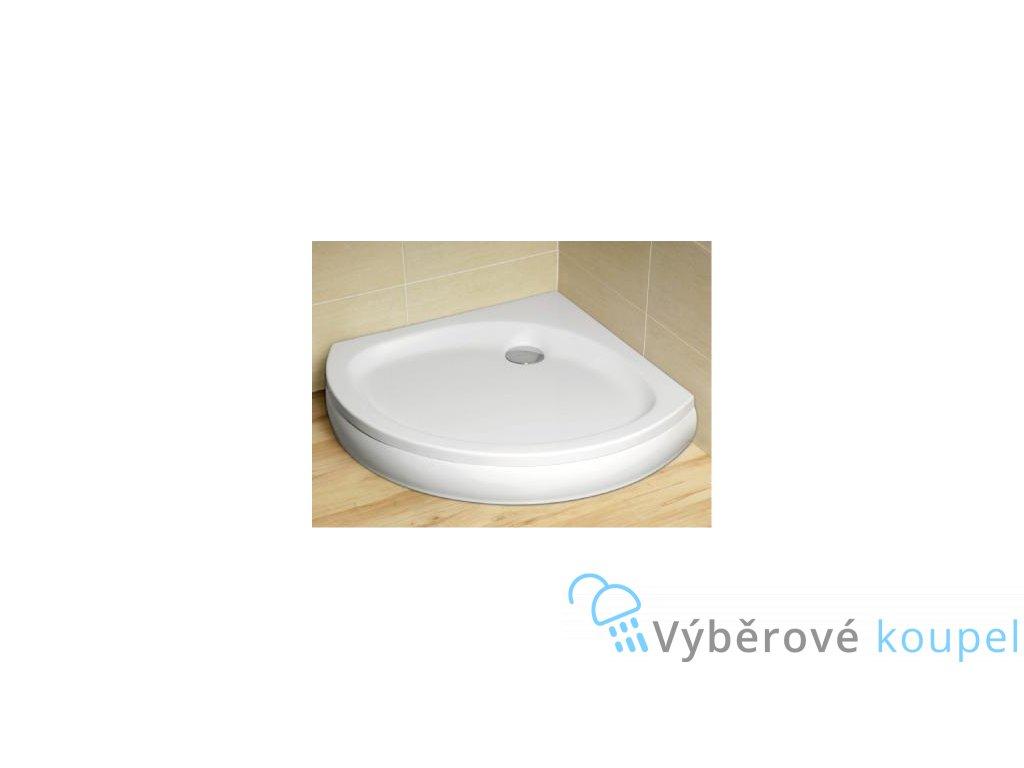 56015 radaway patmos b sprchova vanicka akrylat ctvrtkruh 90cm