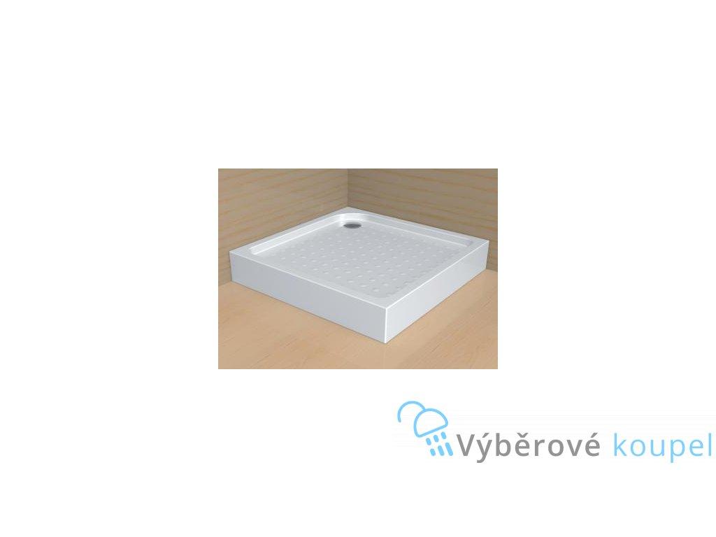 56045 radaway rodos c sprchova vanicka akrylat ctverec 90cm