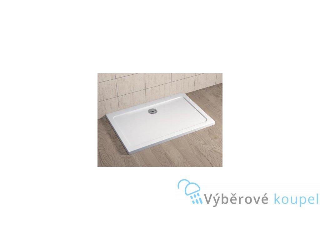 56069 radaway doros d sprchova vanicka akrylat obdelnik 110x90cm