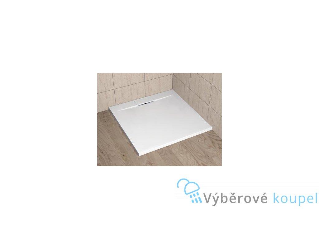 56081 radaway giaros c sprchova vanicka lity mramor ctverec 90cm