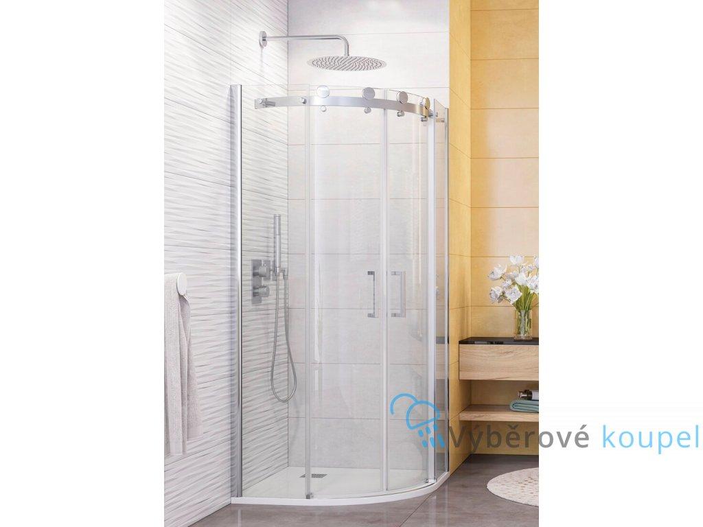 48209 1 48209 1 aquatek tekno s04 stvrtkruhovy sprchovy kut sirka 90cm posuvne dvere