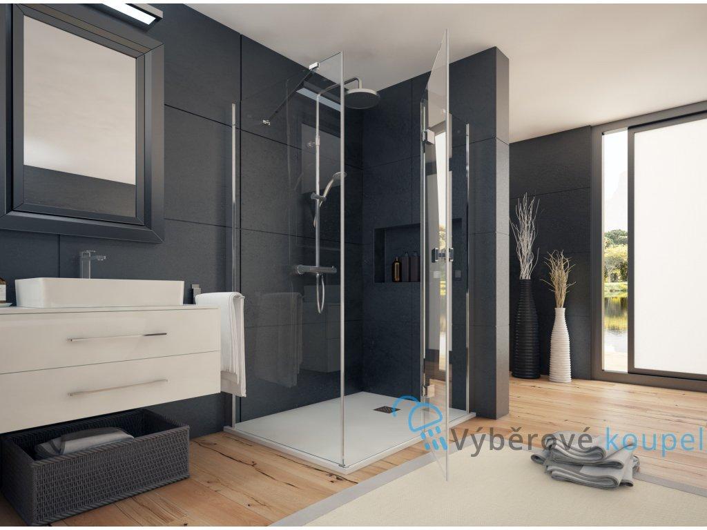 Aquatek Smart R33, obdélníkový sprchový kout, 120x90cm, otevírací dveře (Umiestnenie dverí Ľavé dvere)