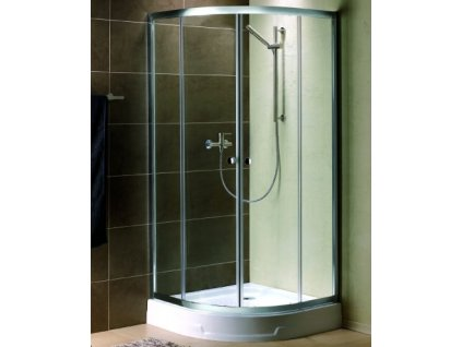 54854 radaway premium plus a1900 ctvrtkruhovy sprchovy kout sirka 90cm posuvne dvere cire sklo