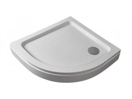 54926 sanotechnik sprchova vanicka akrylat ctvrtkruh 80cm se sifonem p28w