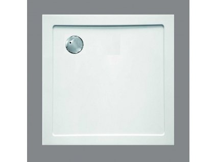 Sanotechnik sprchová vanička, SMC tvrzený polymer, čtverec, 80cm, SC8080S (Nožičky S nožičkami (9ks))