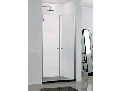 55460 sanotechnik elegance sprchove dvere sirka 90cm oteviraci dvoukridle n1090