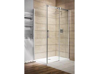 Radaway Espera KDJ obdélníkový sprchový kout, 100x80cm, posuvné dveře, čiré sklo (Umiestnenie dverí Pravé dvere)