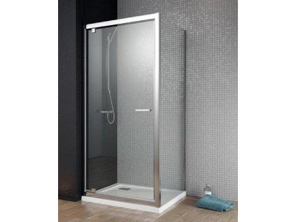 55871 radaway twist dw s ctvercovy sprchovy kout sirka 100cm oteviraci dvere cire sklo