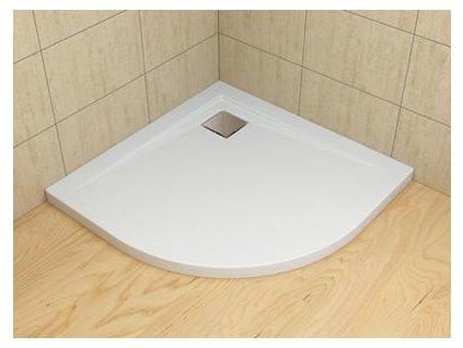 56003 radaway argos a sprchova vanicka akrylat ctvrtkruh 90cm