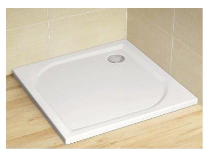 56033 radaway delos c sprchova vanicka akrylat ctverec 80cm