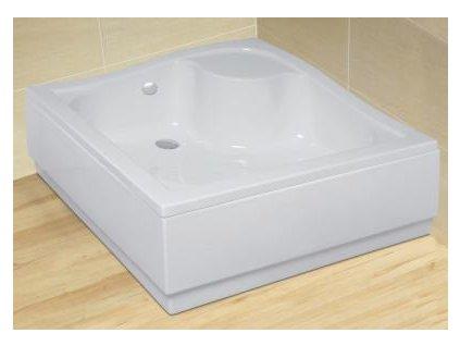 56054 radaway korfu c sprchova vanicka hluboka akrylat ctverec 80cm