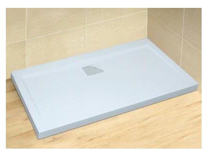 56072 radaway argos d sprchova vanicka s chromovym sifonem akrylat obdelnik 120x80cm