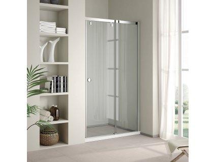 Aquatek Infinity B2 110, sprchové dveře, šířka 110cm, posuvné (Umiestnenie dverí Pravé dvere)