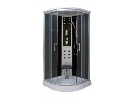 56480 sanotechnik quickline relax parni sprchovy box ctvrtkruh 90x90x215cm cs99