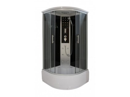 56501 sanotechnik quickline vita sprchovy box s hlubokou vanickou ctvrtkruh 90x90x215cm cl97