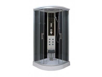56516 sanotechnik quickline komfort sprchovy box ctvtkruh 100x100x215cm cl100