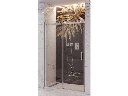 56735 aquatek tekno b2 125 sprchove dvere sirka 125cm posuvne