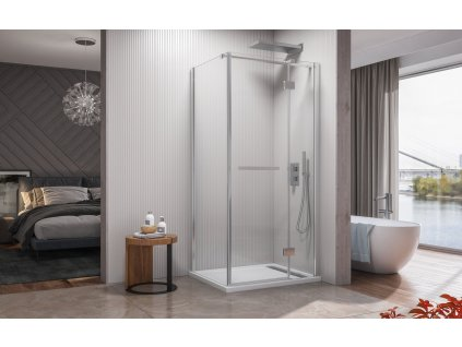 56948 aquatek crystal r13 obdelnikovy sprchovy kout 100x80cm oteviraci dvere