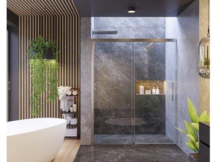 56999 aquatek nobel b2 115 sprchove dvere sirka 115cm posuvne