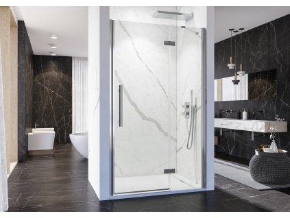 Aquatek Better B5 80, sprchové dveře, šířka 80cm, otvíravé (Umiestnenie dverí Pravé dvere)
