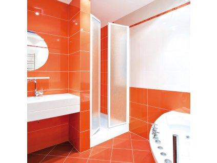 Aquatek Lux B2 70, sprchové dveře, šířka 70cm, otevírací (Farba skla Sklo grape)