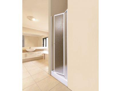 Aquatek Lux B6 70, sprchové dveře, šířka 70cm, zalamovací (Farba skla Sklo grape)