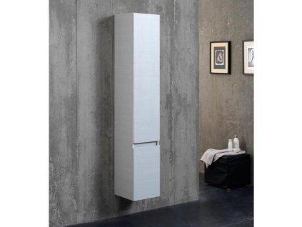 58415 kvstore berlin koupelnova skrinka vysoka zavesna bily les